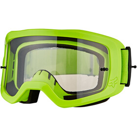 Fox Main II Race Brille fluorescent yellow/clear